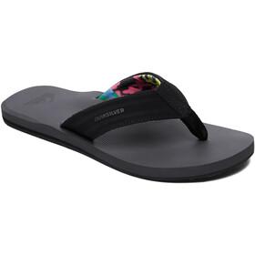 Quiksilver Island Oasis sandaalit Miehet, black/grey/black